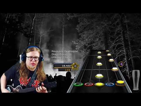 Dragonforce - Revolution Deathsquad - Outro ONE HANDED 100% FC