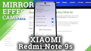 How to Turn Off Camera Mirror Effect in XIAOMI Redmi Note 9s – Turn Off Mirror Feature