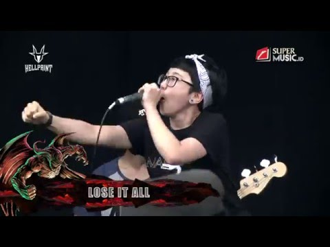 LOSE IT ALL Live at HELLPRINT - WEST JAVA INVASION