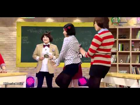 110319 Tara EunJung SoYeon like the first time Dance @ 100 Out Of 100