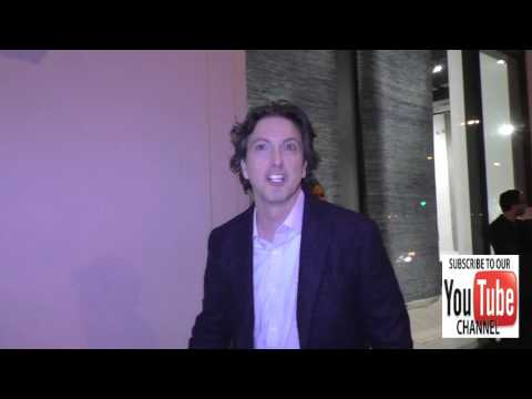 Mark Schwahn talks about feeod at Catch outside Catch Restaurant in West Hollywood