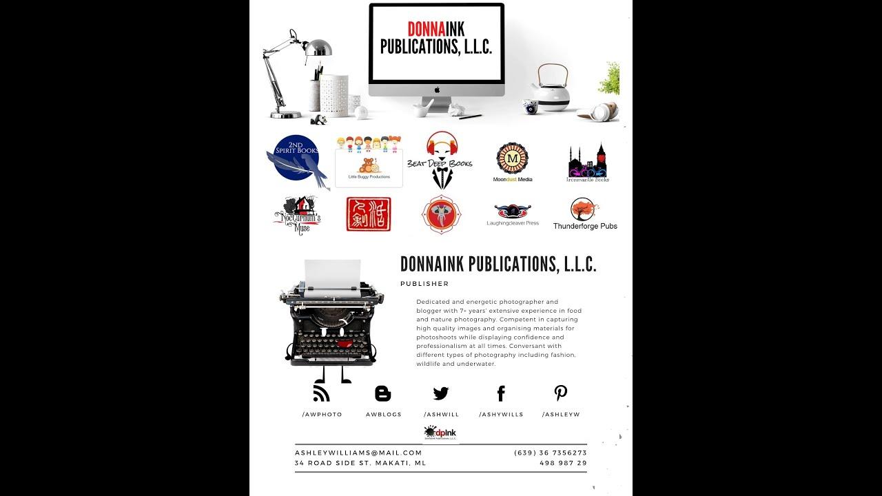 DonnaInk Publications, L.L.C. 2021 Catalog