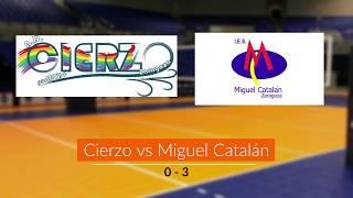 Cierzo vs Miguel Catalán (0 - 3) 2020/03/07
