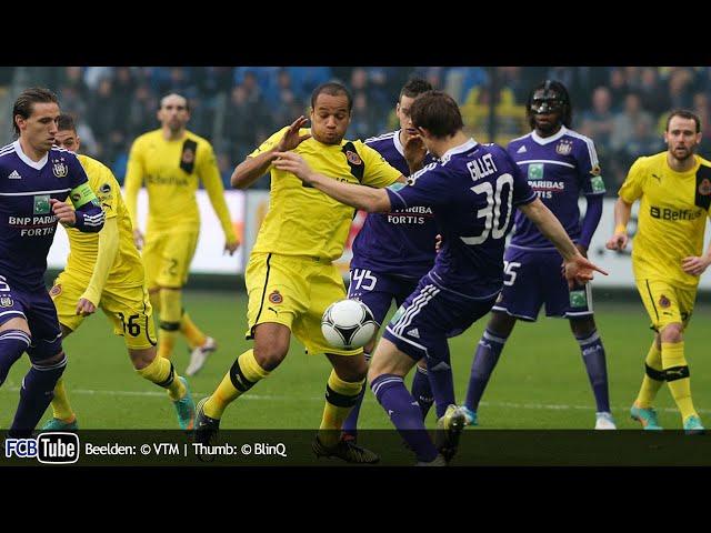 2012-2013 - Jupiler Pro League - 15. RSC Anderlecht - Club Brugge 6-1