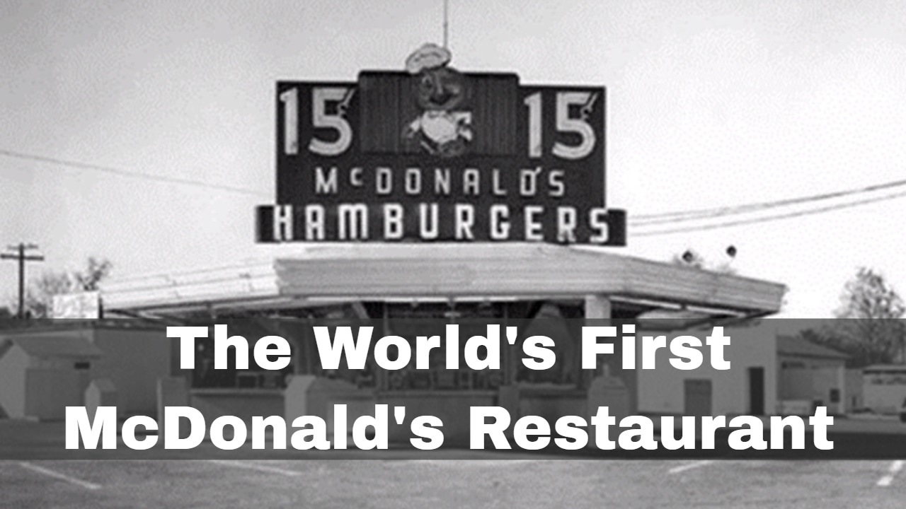 15th May 1940: The world's first McDonald's restaurant ...