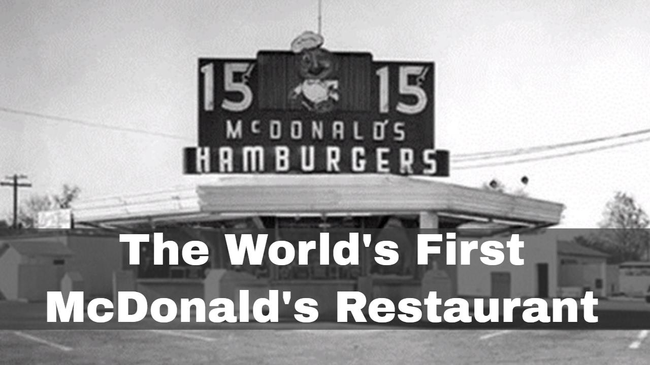 Video: On May 15, 1940, the first McDonald's restaurant opened in San  Bernardino, California
