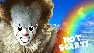 How to make IT (Pennywise) Not Scary! thumbnail