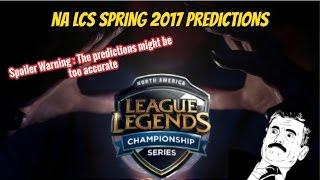 na lcs spring 2017 predictions spoiler alert