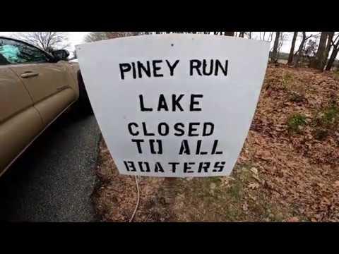 Bass Fishing In Zombieland               Piney Run.