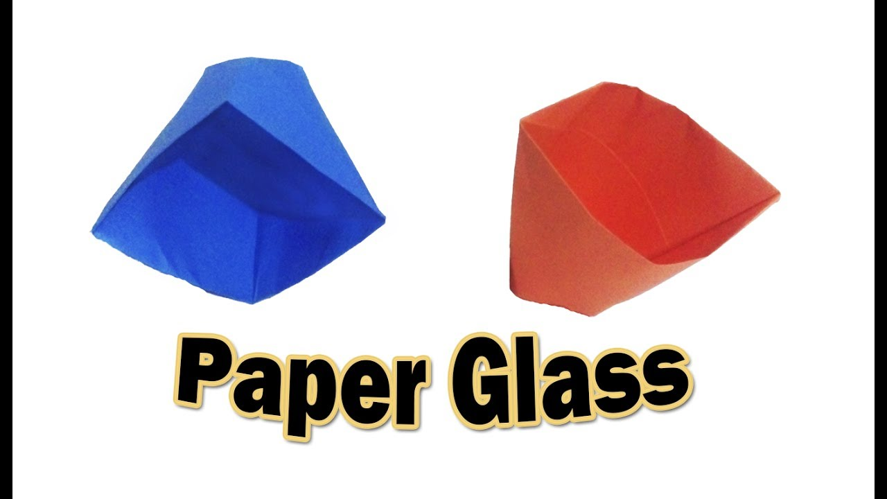 How to Make a Paper Cup-Step by Step Very Easy Origami ... - photo#16