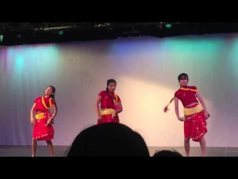 Nepali dance in Columbus ohio by Tara and her friends