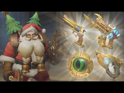 Overwatch - The Greatest Golden Guns