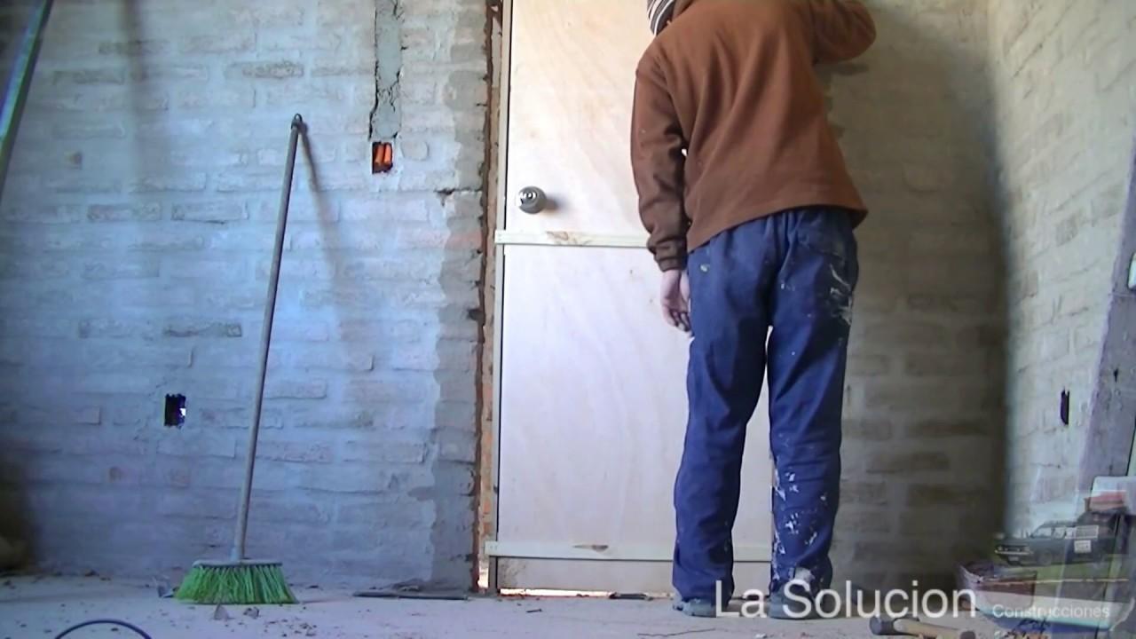 Como poner una puerta - YouTube