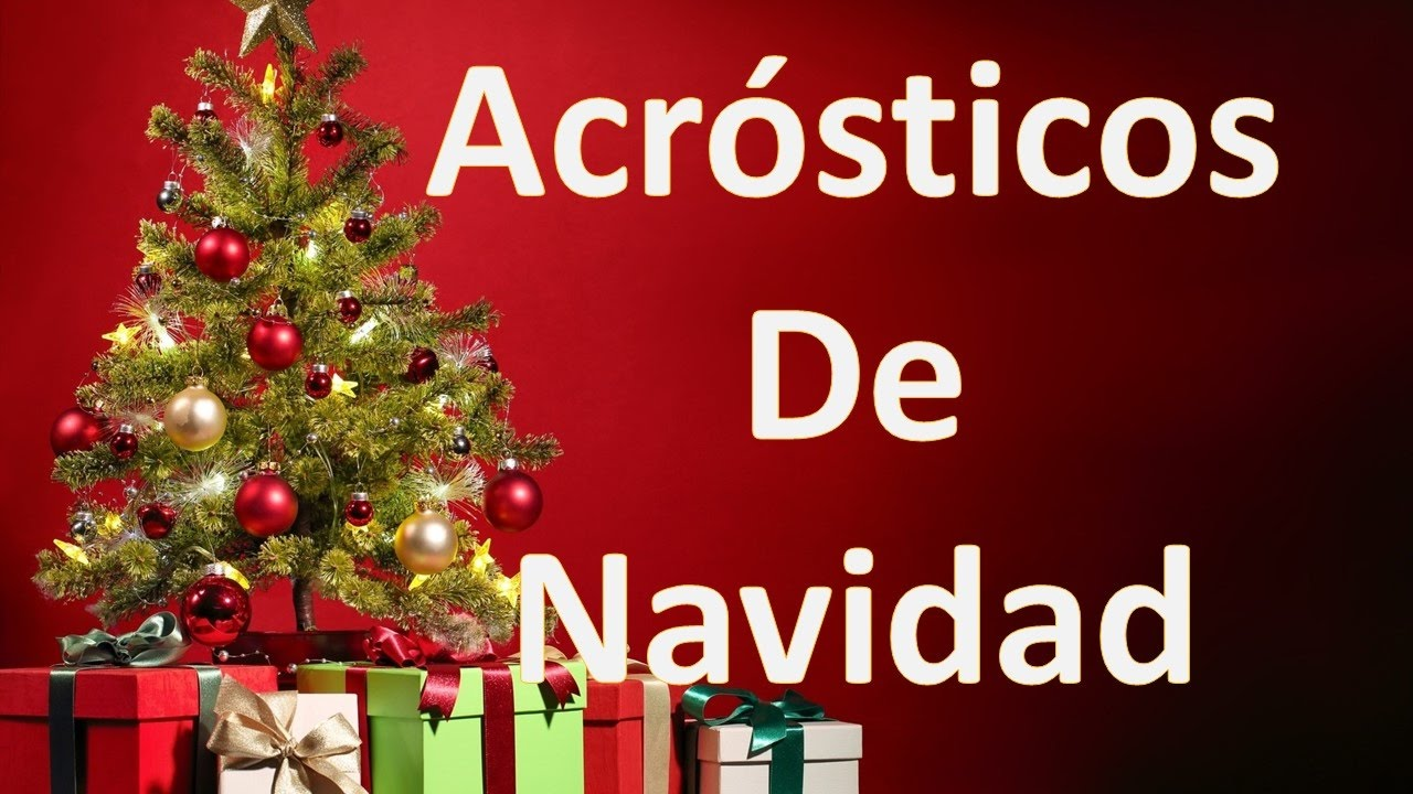 Acrosticos De Navidad Para Dedicar By Amor Entre Lineas Frases