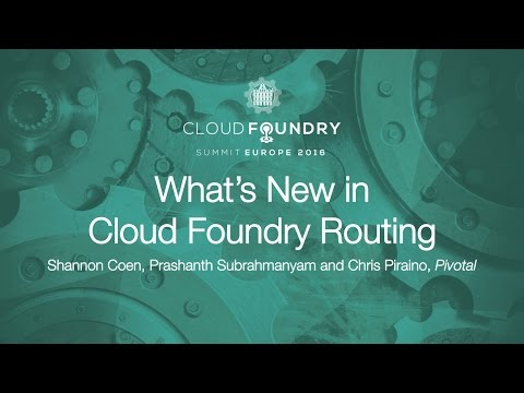 What's New in Cloud Foundry Routing
