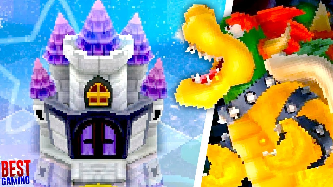 New Super Mario Bros  2 Walkthrough - All Castle Levels (Koopalings, Final  Boss Fight + Ending)