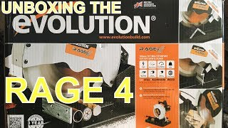 Evolution Rage 4 - Unboxing and Assembly