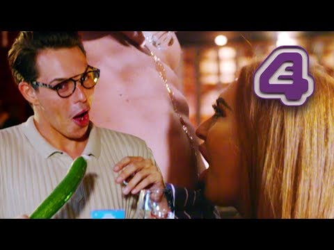 Charlotte Dawson Drinks Shot From Date's Belly Button!! | Celebs Go Dating
