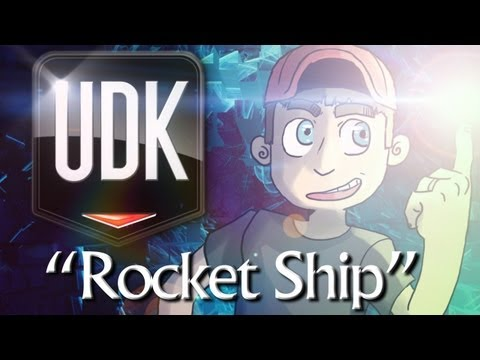 "UDK Physics Playground - ""Rocket Ship"""