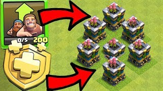 """A CLOSER LOOK AT the UPDATE!! """"Clash Of Clans"""" Season challenges"""