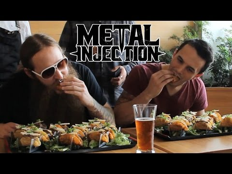 BLACK CROWN INITIATE Taco Eating Challenge | Metal Injection