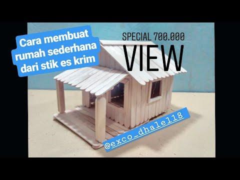30 Kumpulan Miniatur Rumah Adat Jawa Barat Dari Stik Es
