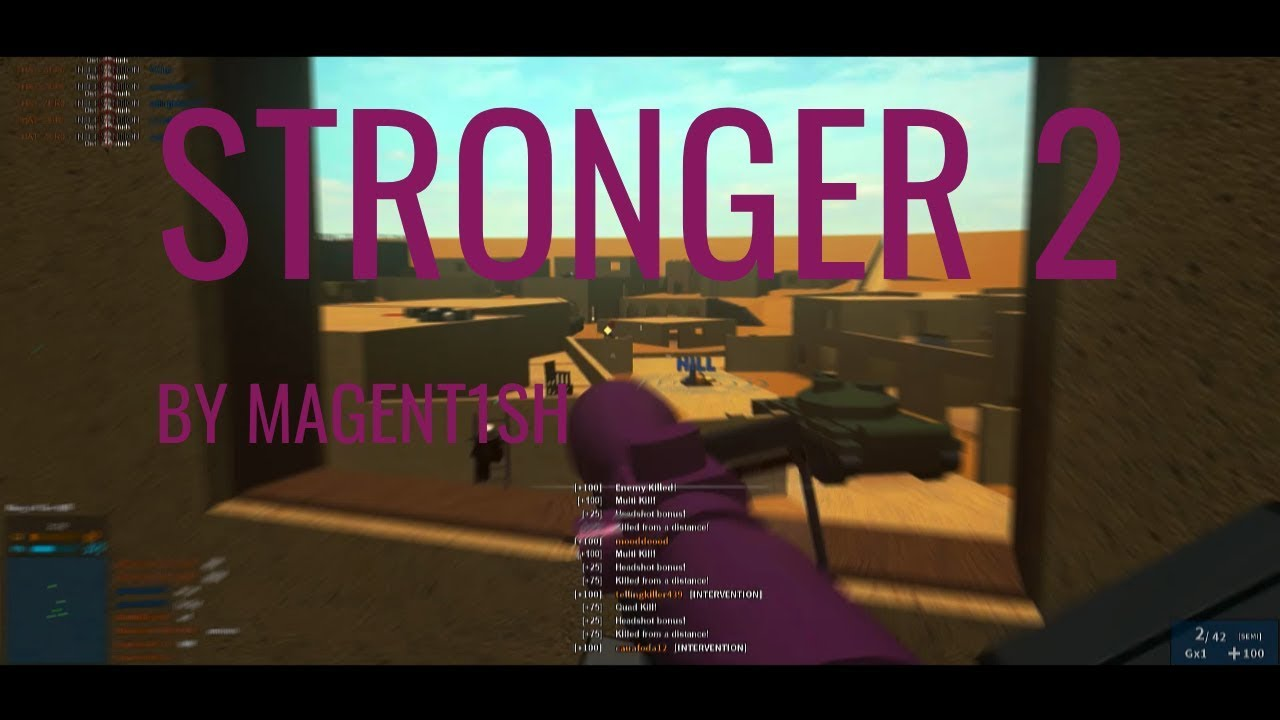 Stronger 2 By Magent1sh (lost montage)