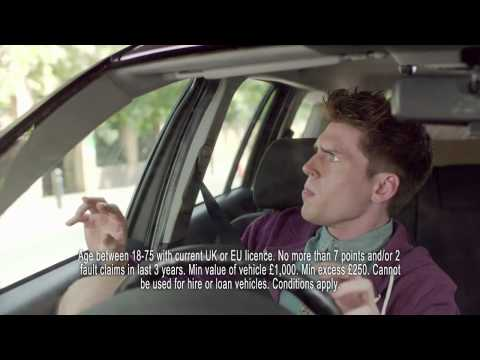 Short Term Car Insurance | Tempcover - Hedgehog Attack - Advert 1
