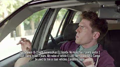 Short Term Car Insurance   Tempcover - Hedgehog Attack - Advert 1