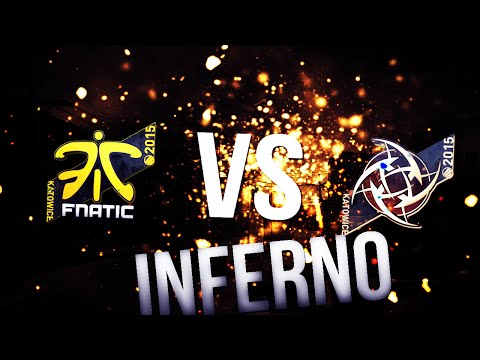 NIP vs Fnatic | VoIP/ts3 + Twitch chat | Inferno | KATOWICE 2015