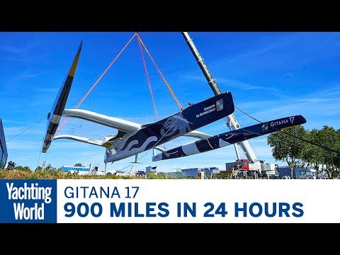 Gitana 17 | Cross oceans at 50 knots and do 900 miles in 24h | Yachting World
