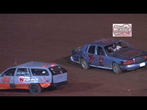 Dixie Speedway 7/22/17 Reverse Race!