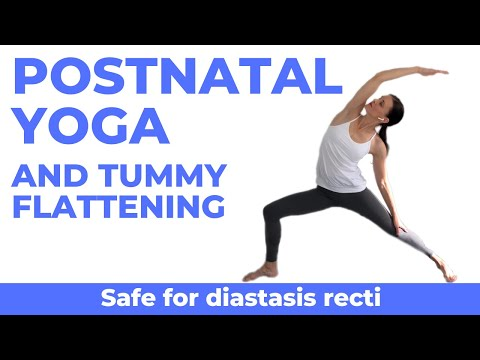 Postnatal Yoga With Diastasis Recti Exercises Postpartum