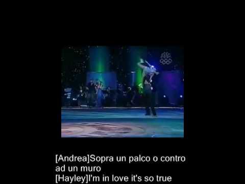 Andrea Bocelli & Hayley Westenra - Vivo Per Lei (Lyrics on screen)