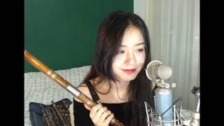 Cô gái thổi sáo siêu dễ thương-  xinh nhất TRUNG HOA