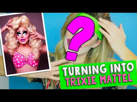 TURNING INTO TRIXIE MATTEL // Grace Helbig