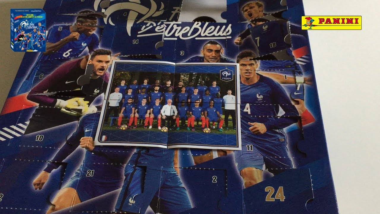 Calendrier De Lavent Football.Calendrier De L Avent Equipe De France 2017 Fiers D Etre Bleus Jour 24