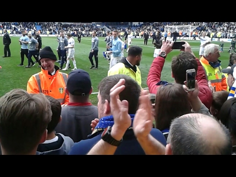 The Lap Of Honour | Leeds United 3-3 Norwich City | Leeds United 2016/17