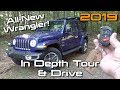 2019 Jeep Wrangler Unlimited Sahara: Start Up, Test Drive & In Depth Tour
