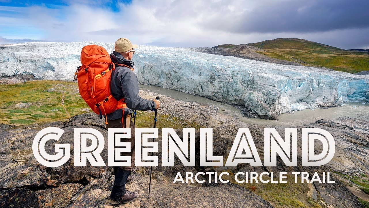 Trekking The Arctic Circle Trail In Greenland Expert Vagabond Super Short Circuits Flown With An Rc Model Plane Richard Youtube