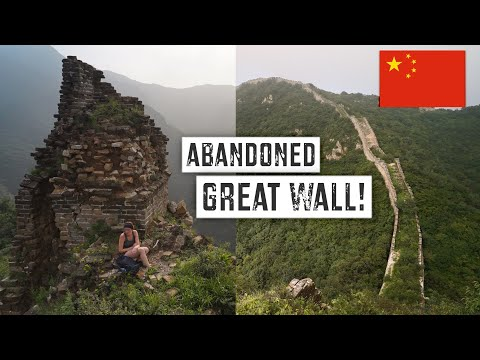 ABANDONED GREAT WALL of CHINA: Which Section Should You Visit?