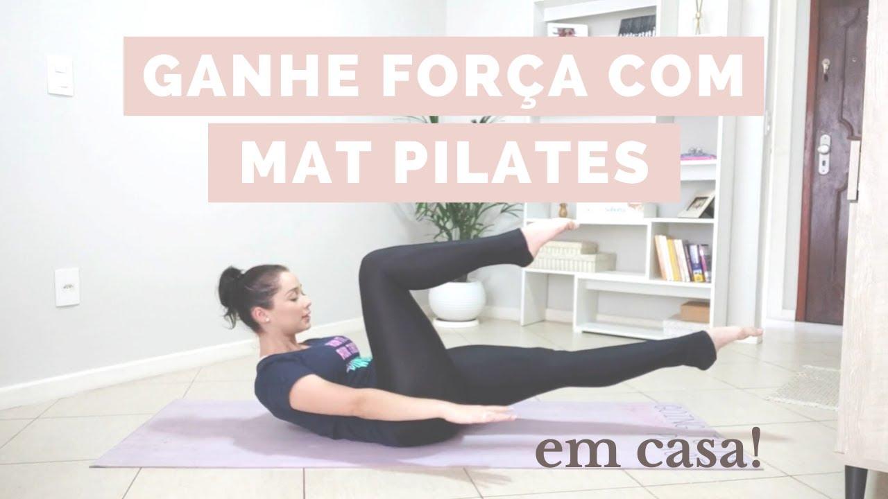 GANHE FORÇA COM MAT PILATES SEM SAIR DE CASA