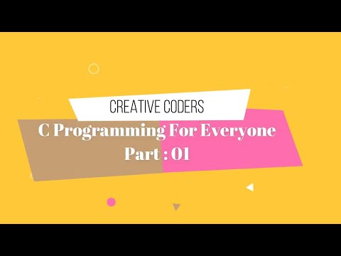 C Programming English Tutorial For Everyone Part-01 (2019) thumbnail