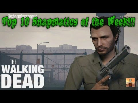 GTA V Top 10 Snapmatics of the Week Episode #15: The Walking Dead!!!