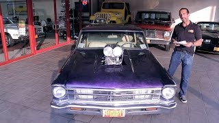 '67 Nova SS Pro Street for sale with test drive, driving sounds, and walk through video