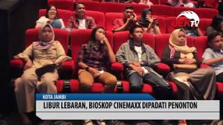 Video LIBUR LEBARAN, BIOSKOP CINEMAXX DIPADATI PENONTON download MP3, 3GP, MP4, WEBM, AVI, FLV Agustus 2019