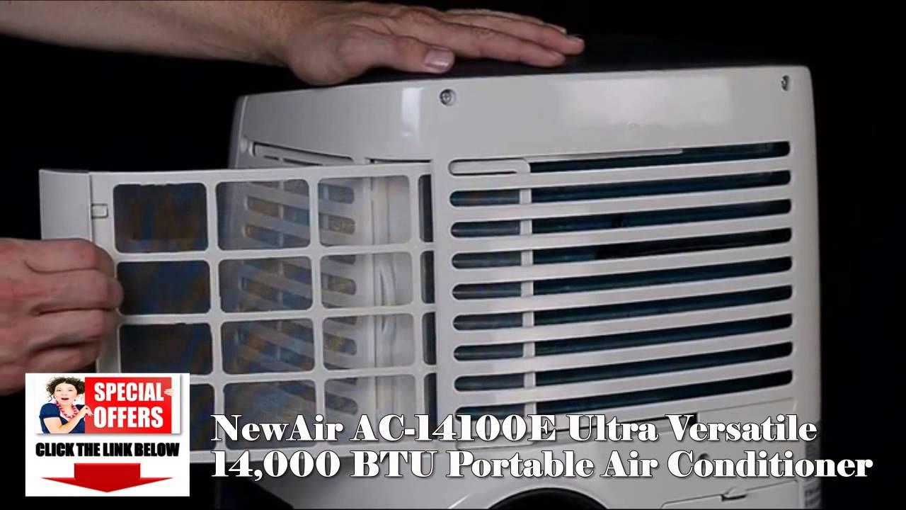 NewAir AC 14100E Ultra Versatile Portable Air Conditioner??+