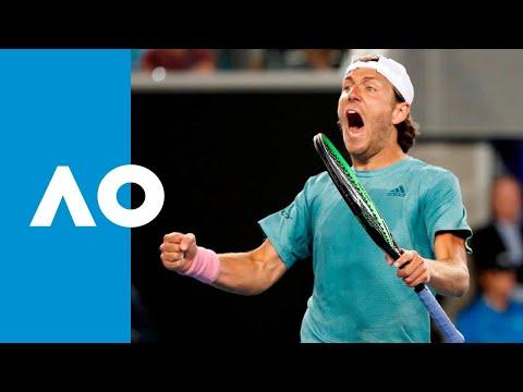 Lucas Pouille v Alexei Popyrin match highlights (3R) | Australian Open 2019 Mp3