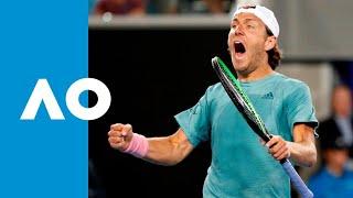 Lucas Pouille v Alexei Popyrin match highlights (3R) | Australian Open 2019