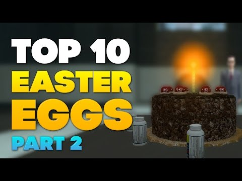 Top 10 Easter Eggs [PART 2] ★ Video Games